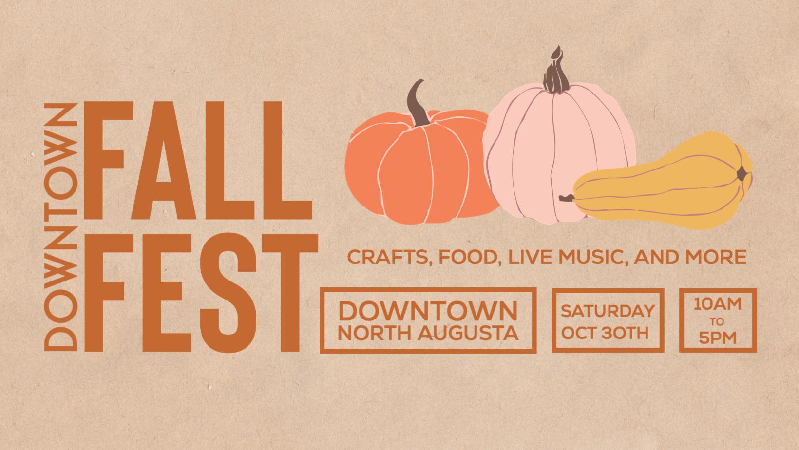 Downtown Fall Fest Vendor Call